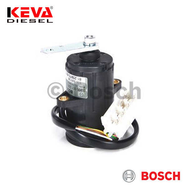 0205001206 Bosch Accelerator Pedal Position Sensor (PWG-3) for Man, Maz Minsk