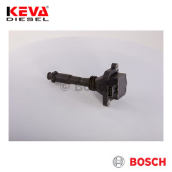 0221504006 Bosch Ignition Coil (Compact) for Fiat, Lancia - Thumbnail
