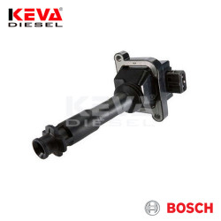 Bosch - 0221504006 Bosch Ignition Coil (Compact) for Fiat, Lancia