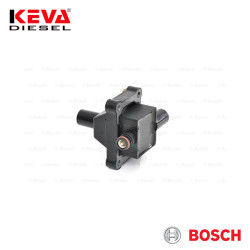 Bosch - 0221506002 Bosch Ignition Coil (Module) for Daewoo, Nissan, Ssangyong, Mercedes Benz