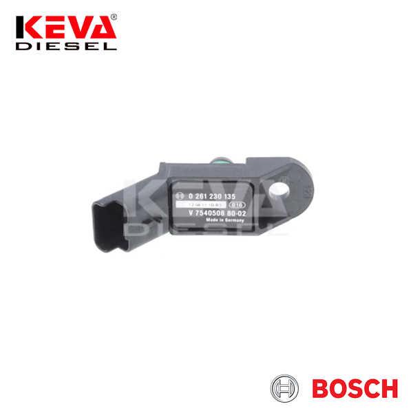 0261230135 Bosch Pressure Sensor (DS-S2) for Citroen, Mini, Peugeot