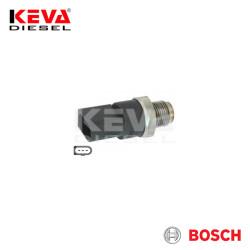 Bosch - 0281002504 Bosch Pressure Sensor (CR/RDS 3/1800/AKS) for Audi, Mercedes Benz, Smart, Volkswagen