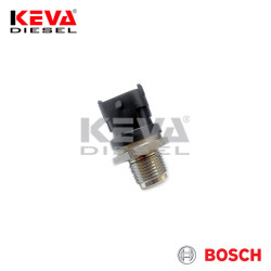 Bosch - 0281002863 Bosch Pressure Sensor (CR/RDS4/1800KS) for Case, Hyundai, Kia, New Holland