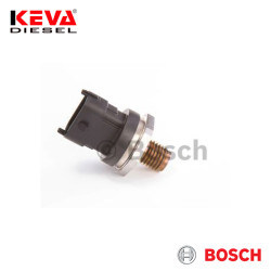 Bosch - 0281002909 Bosch Pressure Sensor (CR/RDS4/1500/KS) for Fiat, Iveco, Land Rover, Mwm-Diesel, Rover