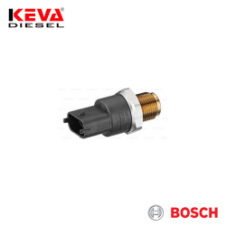 Bosch - 0281002921 Bosch Pressure Sensor (CR/RDS4/1800/KS) for Cummins, Daf, Renault
