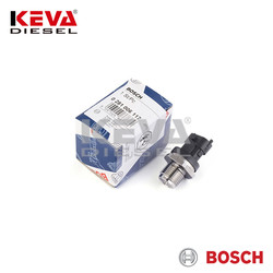 Bosch - 0281006117 Bosch Pressure Sensor (RDS4.5; 2400 Bar; M18x1.5; Komp ST) for Land Rover