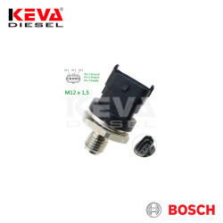 Bosch - 0281006189 Bosch Pressure Sensor (RDS4.2 M12 X 1,5;1800BAR) for Renault