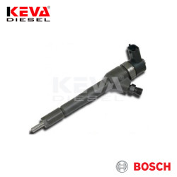 0445110183 Bosch Common Rail Injector (CRI2) for Alfa Romeo, Fiat, Ford, Lancia, Opel - Thumbnail