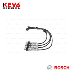 Bosch - 0986356346 Bosch Spark Plug Cable Set (B 346) (Copper) for Audi, Seat, Skoda, Volkswagen