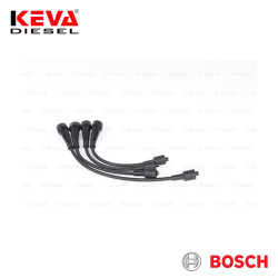 Bosch - 0986356967 Bosch Spark Plug Cable Set (B 967) (Silicone) for Renault