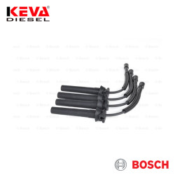Bosch - 0986357052 Bosch Spark Plug Cable Set (B 052) (Silicone) for Dodge, Gaz, Chrysler