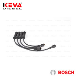 Bosch - 0986357184 Bosch Spark Plug Cable Set (B 184) (Silicone) for Renault
