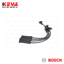 Bosch - 0986357256 Bosch Spark Plug Cable Set (B W256) (Silicone) for Dacia, Renault