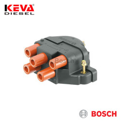 Bosch - 1235522435 Bosch Distributor Cap (4 Cylinders) for Holden, Vauxhall, Opel