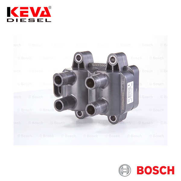 F000ZS0221 Bosch Ignition Coil (ZS-K 2X2) (Module) for Dacia, Renault